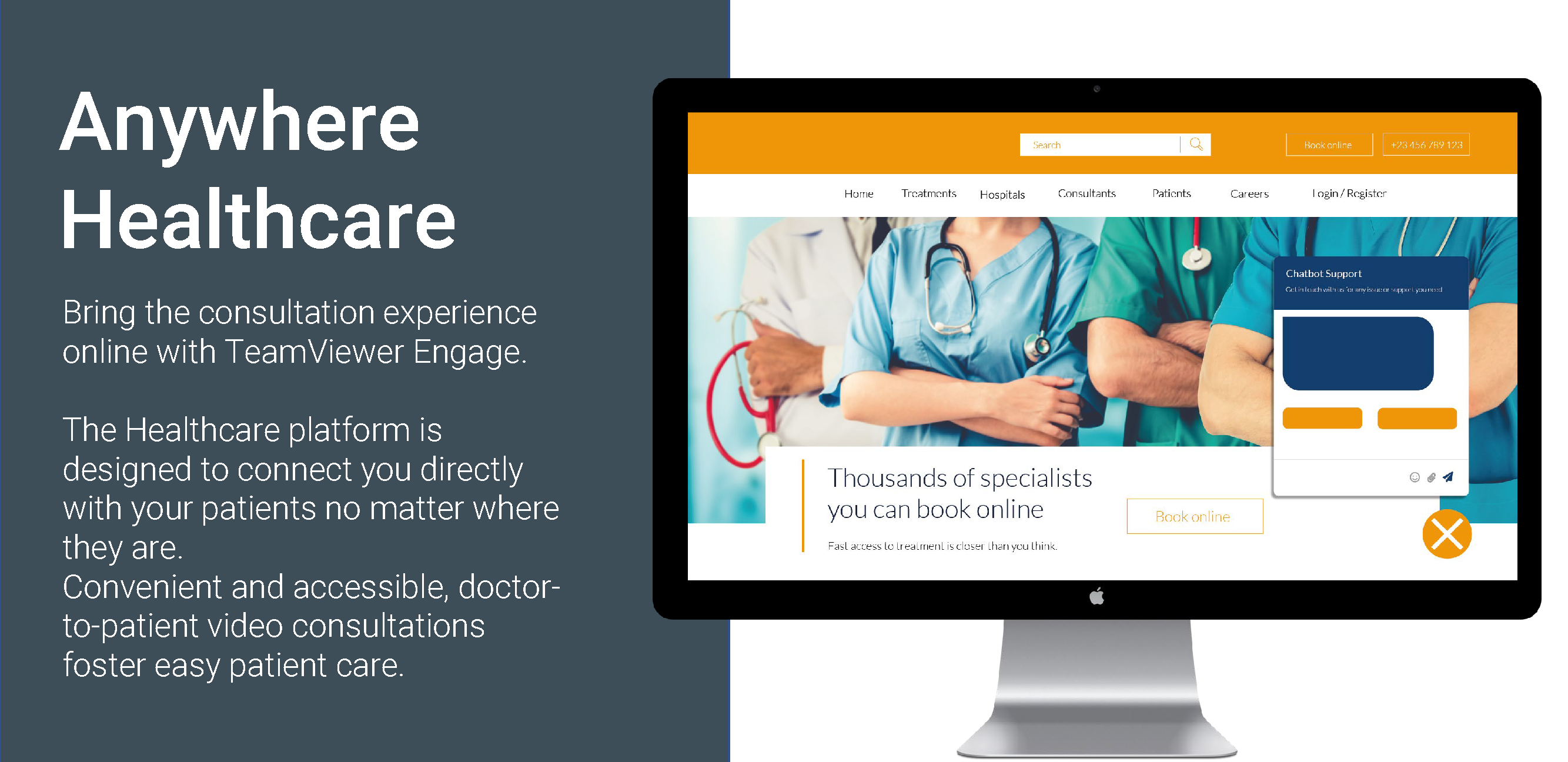 TeamViewer Engage Use Case Healthcare