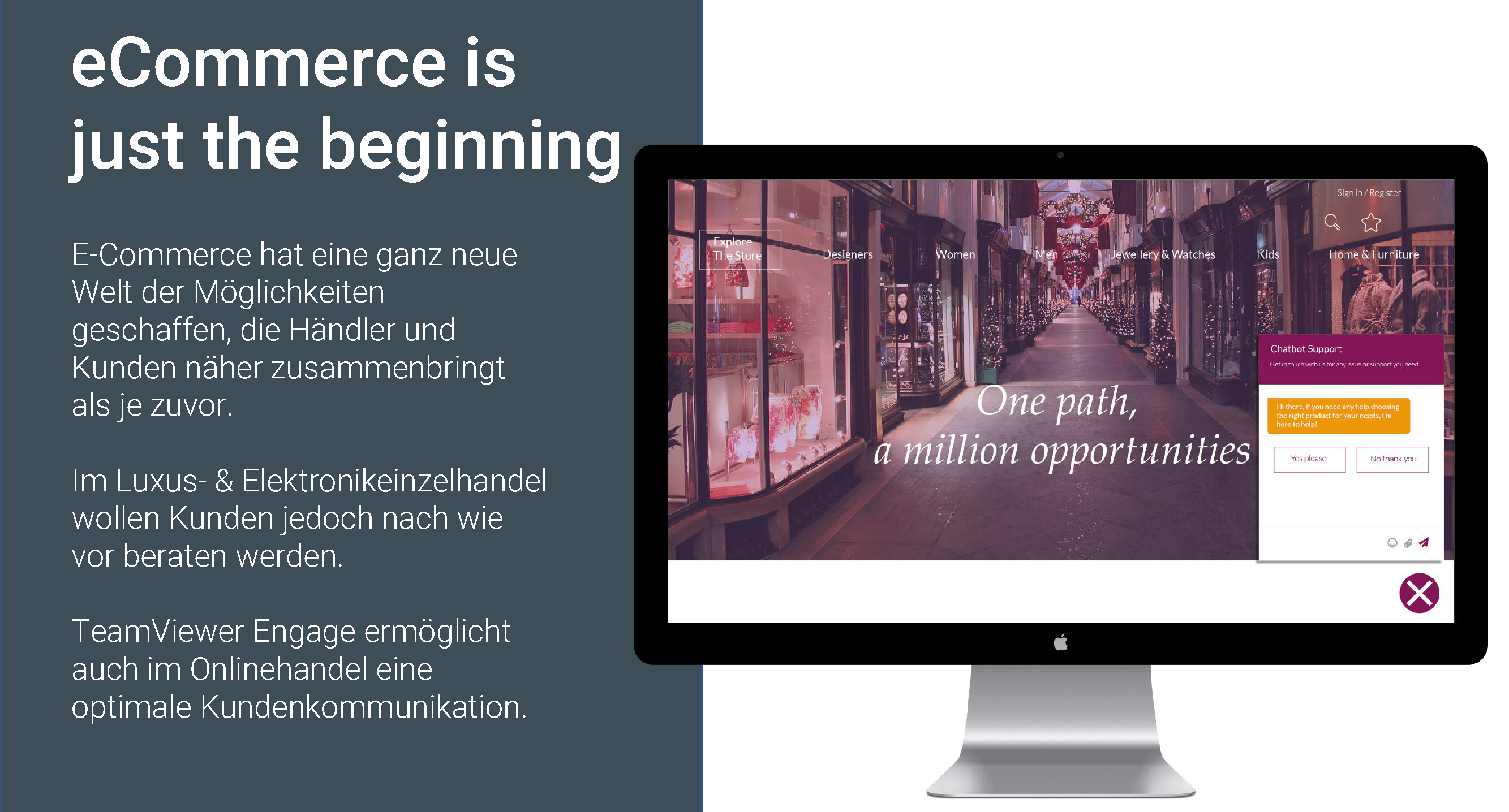 TeamViewer Engage Use Cases eCommerce